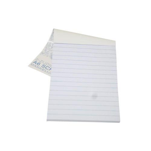 Schrijfblok A6 gelinieerd papier