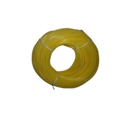 Montagesnoer 1X0,75 geel
