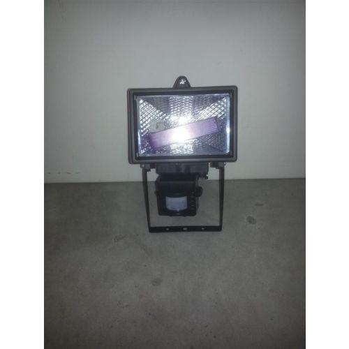 Bouwlamp 150W. Met Sensor