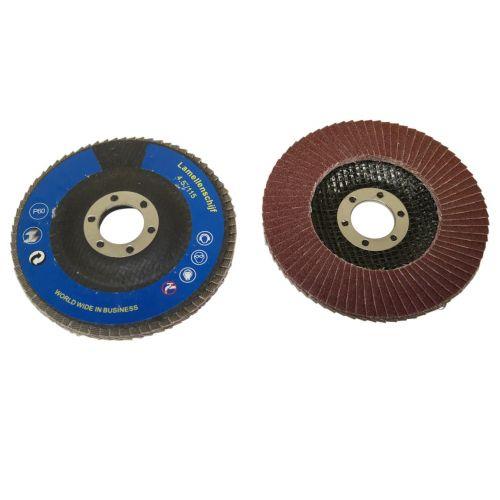Lamellenschuurschijf 125 mm korrel 80 2-delig