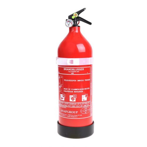 Brandblusser 2 kg ABC NL met manometer