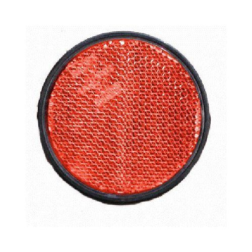 Reflector rood rond 60 plak