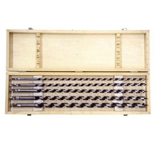 Slangenboren set 460 mm 5-delig