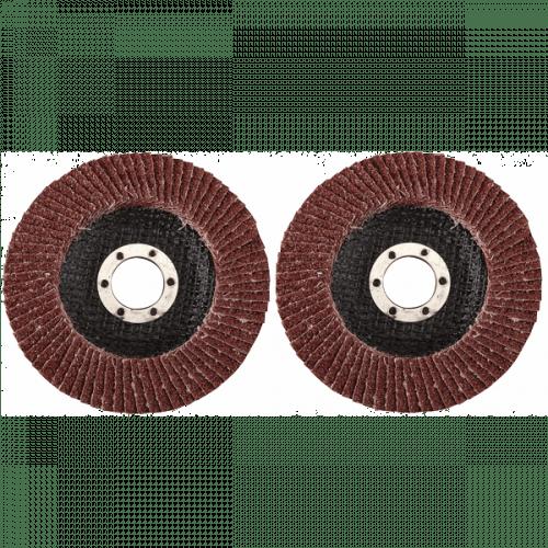 Lamellenschuurschijf 2-delig 115 mm K40 + K80