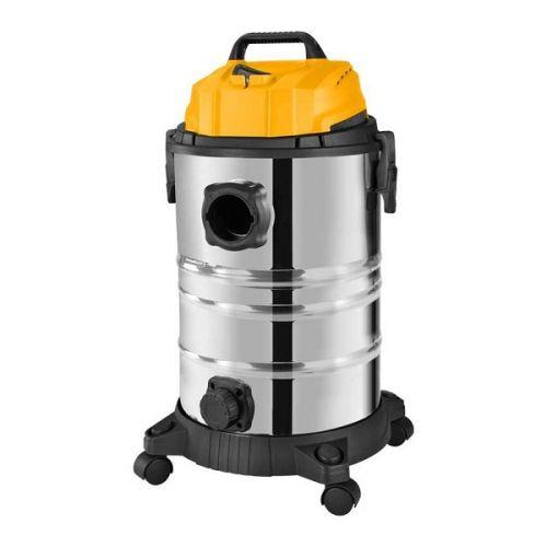 Stofzuiger nat/droog 30 liter 1400 Watt