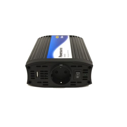 Omvormer 12V DC - 230v AC 500W met 2.1A USB Ring Automotive