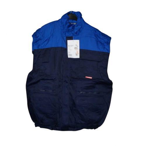 Bodywarmer blauw maat XXL