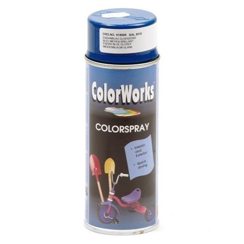Colorworks RAL5010 enzian blauw 400 ml
