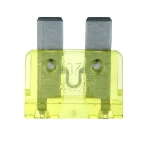 Steekzekering 20A geel