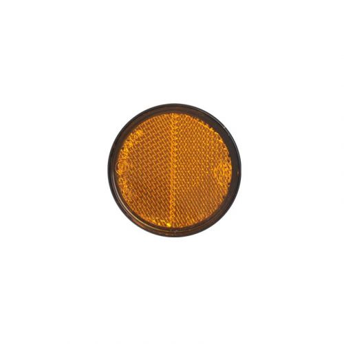 Reflector oranje rond 60 plak