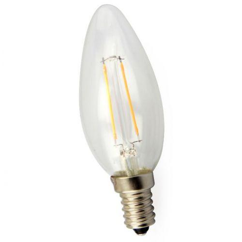 Halogeenlamp Kaars 2 Watt E14 Gloeidraad Dimbaar