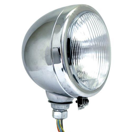Tractor koplamp 160 mm chroom