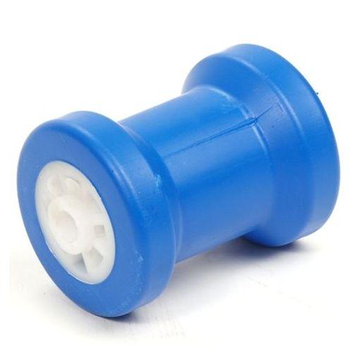 Kielrol blauw 130X90 mm asgat 15 mm