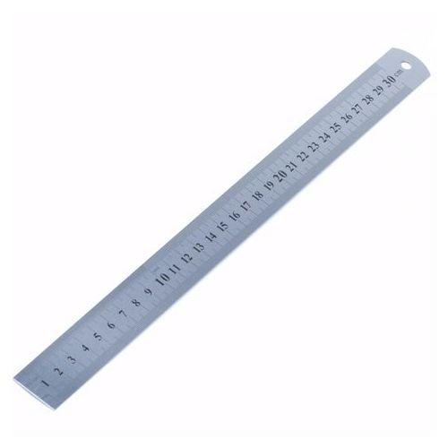 Liniaal 30 Cm Rvs