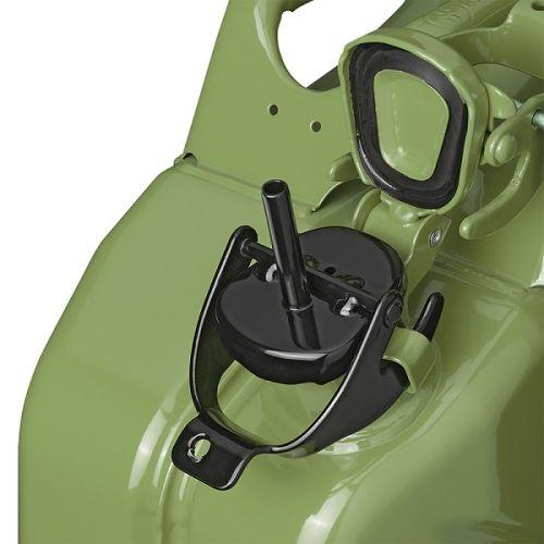 Adapter voor jerrycan metaal