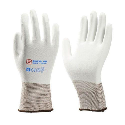 Handschoen White Touch maat L (9) set 3-delig