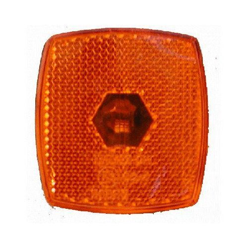 Breedtelicht oranje 66X62 mm