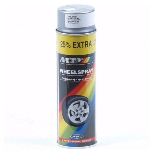 Zilver lak (wiel) Motip 500 ml