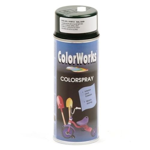 Colorworks RAL6009 forrest groen 400 ml