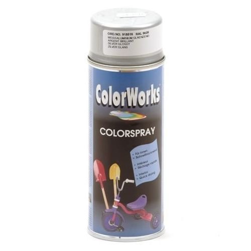Colorworks zilver effect spuitbus 400 ml