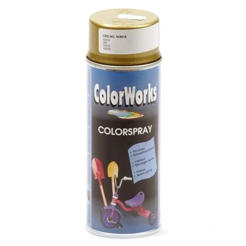 Colorworks goud effect spuitbus 400 ml
