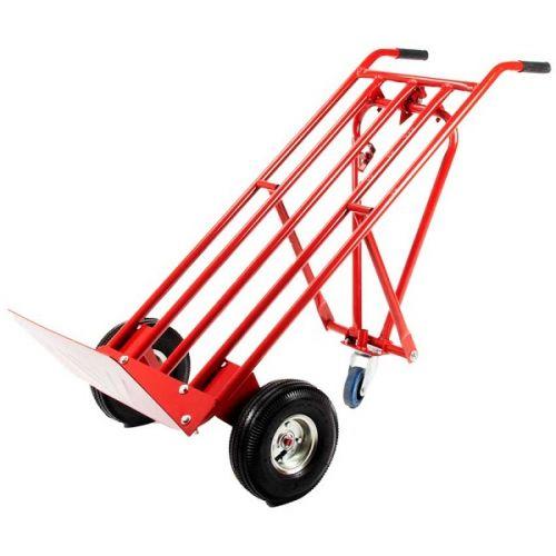 Steekwagen met steunwiel