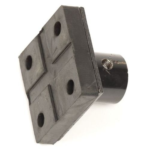 Assteun 2 ton hoog model los rubberen blok