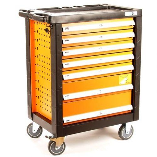 Gereedschapswagen 155-delig oranje (GRATIS VERZENDING)