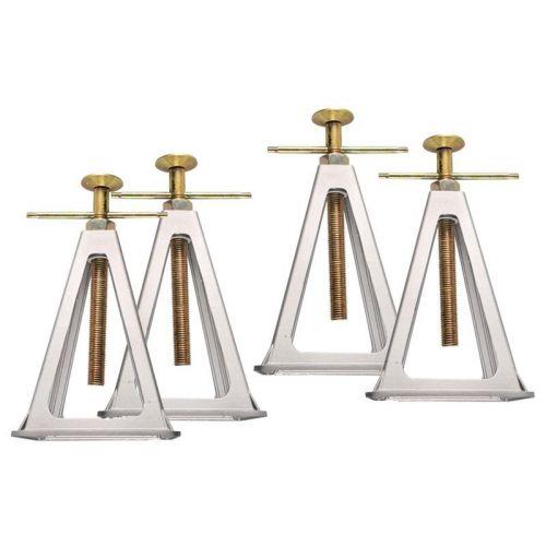 Aluminium assteunen set verstelbaar 4 stuks