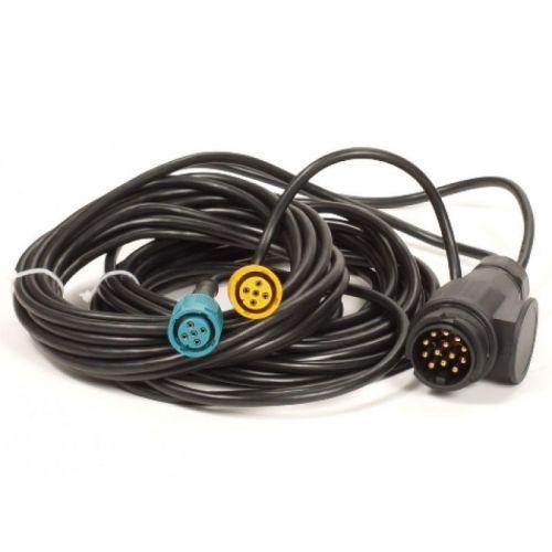 Achterlicht kabelset 7 meter Multipoint