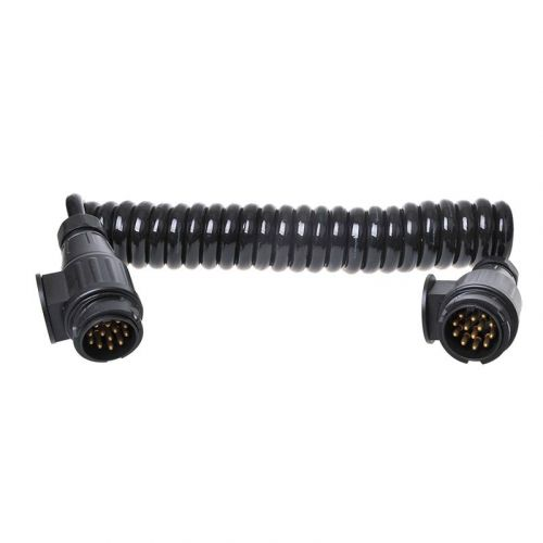 Spiraalkabel 13-polig 12V 8 aderig