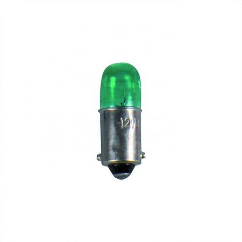 Lamp 12V 4W BA9s groen