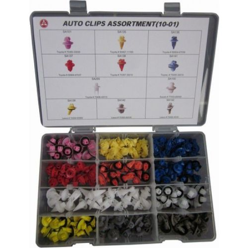 Auto clips assortiment 120-delig