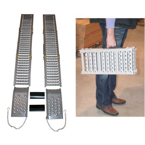 Oprijplanken minibrug set 2-delig