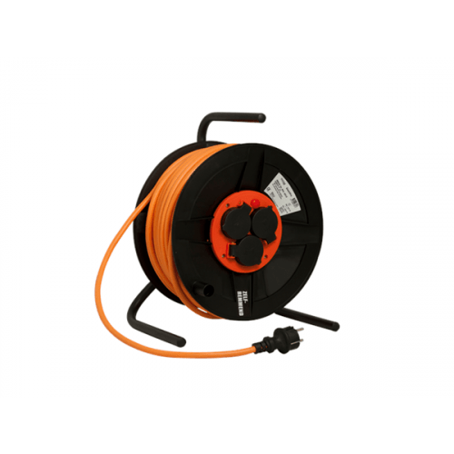 Kabelhaspel BM 300 met RA 3x1,5 kabellengte 25 meter oranje