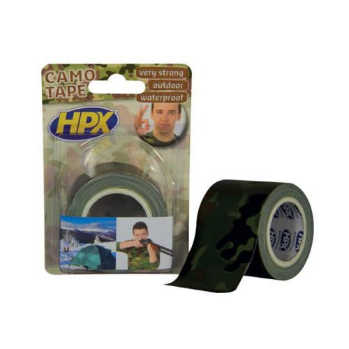 Camouflage tape 48 mm x 5 meter HPX