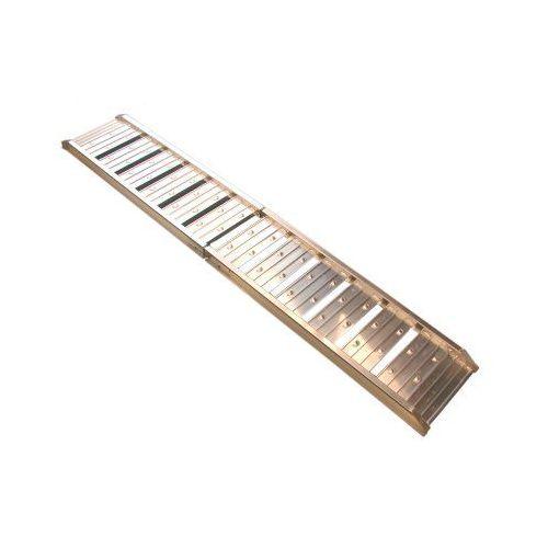 Oprijplank aluminium 180 cm vouwbaar