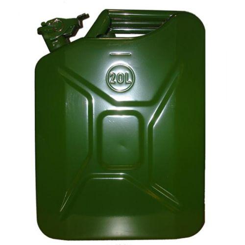 Jerrycan 20 Liter Metaal Groen