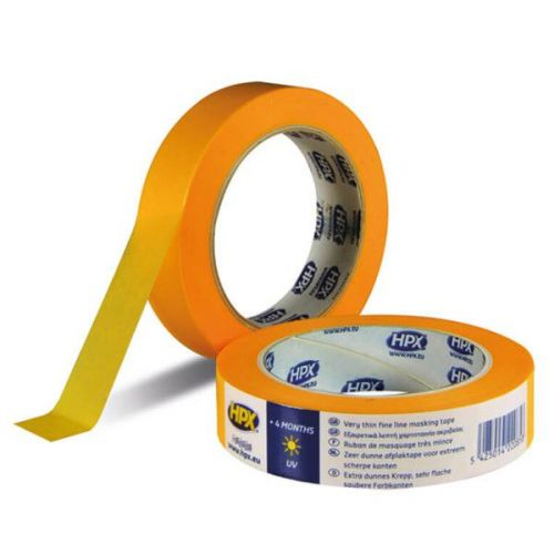 Masking tape 19 mm x 50 m 4400 gold HPX