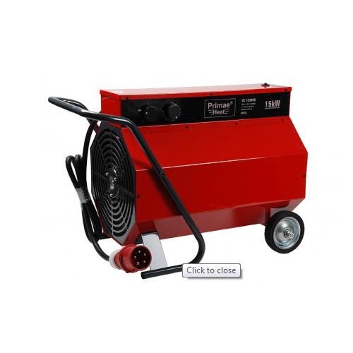 Heater primaeheat ventilatorkachel kanon