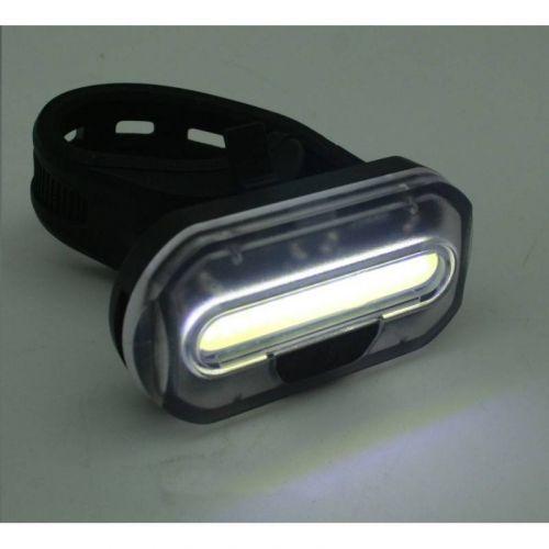 Fietslamp ultra COB LED compact wit