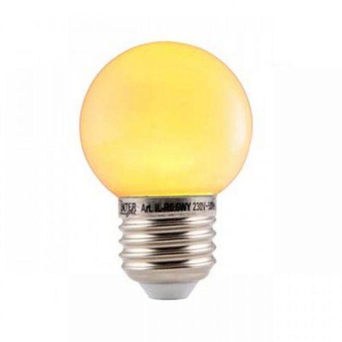 Led Lamp Bol E27 Geel/Oranje