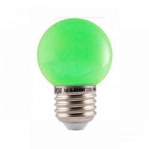 Led Lamp Bol E27 Groen