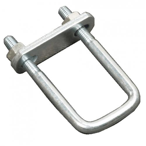 U-Beugel 100x43 M10 met stropplaat