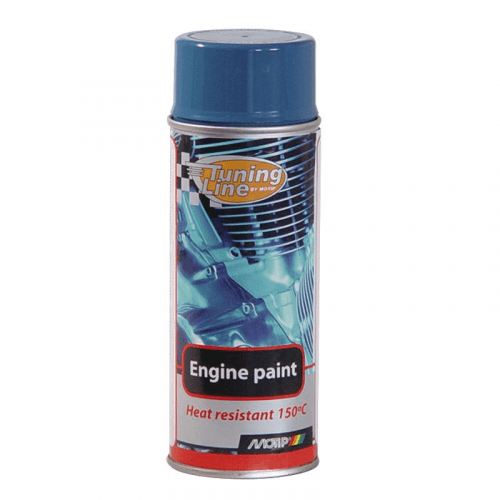 Enginepaint blauw Motip 400 ml