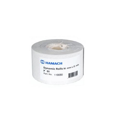 Schuurpapier Korrel -80-93 Mm - 25 Mtr hamach