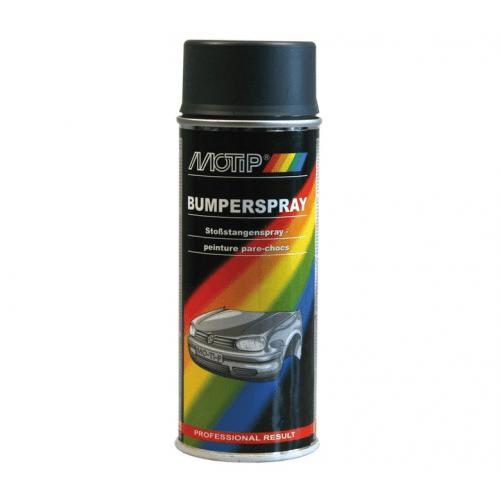 Bumperspray Antraciet 400 ml. Motip