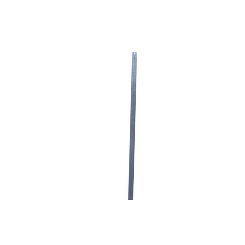 Liniaal 80 cm RVS