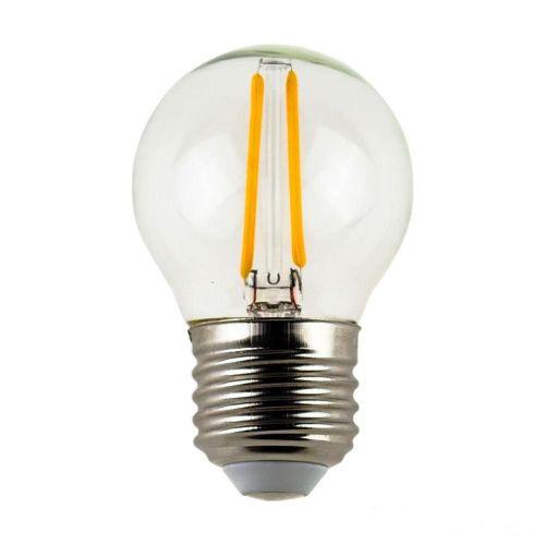 Halogeenlamp Kogel 2 Watt E27 Gloeidraad Dimbaar
