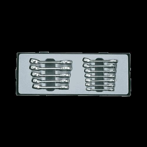 Ring-/steek sleutel set kort model 12-delig Force